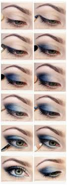 11perfect smoky eye makeup tutorials for diffe occasions navy eye makeupnavy blue