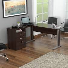 Ameriwood Tiverton Executive Desk Expert Plum Office Handsome Curved Top Executive Desk With Metal Legs 2