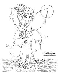 water fairy lineart by jadedragonne on deviantart jade dragon