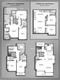 Small Flat Floor Plans 2 Bedroom Apartments Floor Plan Interior Design