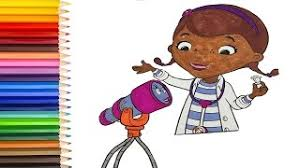 doc mcstuffins coloring pages kids disney doc mcstuffins