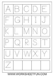 Free Alphabet Tracing Worksheets English Worksheet For Kids Preschool Worksheets Printable Loving