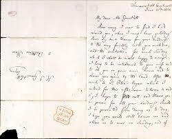 a letter from felix mendelssohn written in english to composer