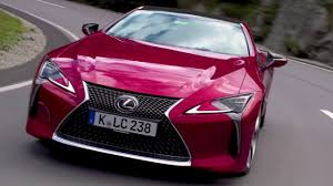 pink lexus the new lexus lc 500 driving video youtube