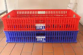 Jual Keranjang Container Plastik Bekas keranjang kontainer gelas tipe 2216 l www raktoko net