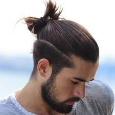 mens hair topknot best top knot hairstyle tips for short hair men man bun