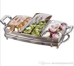 sale stainless steel electricity buffet chafing dish set