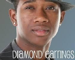guys with diamond earrings clarion diamond cz stud earrings men s stud earrings