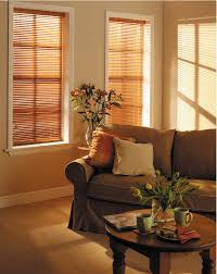 decorating window with trim board and faux wood blinds on beige