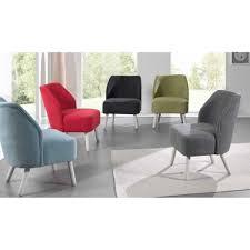 fauteuil club couleur fauteuil club en tissu couleur gris foncé et pieds blanchis