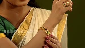 palakka mango bangle traditional jewelry kerala
