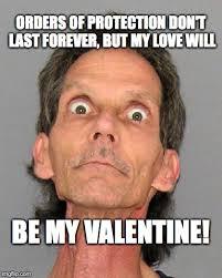 Be My Valentine Meme - scary valentine imgflip