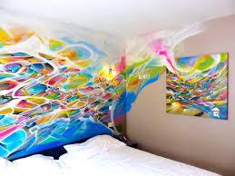 graffiti chambre hotel room decoration nadib bandi graffiti decoration