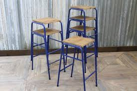 Vintage Industrial Bar Stool Stacking Lab Stools Vintage Industrial Bar