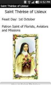 Prayer To St Therese The Little Flower - saint thérèse of lisieux android apps on google play