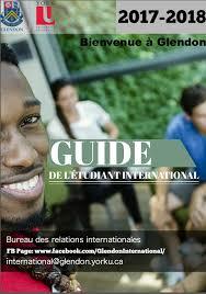 bureau des relations internationales international relations glendon