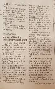 recent coverage california state university los angeles