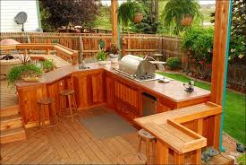 awesome outdoor kitchen on deck design is like family room set a