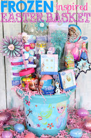 cheap easter basket stuffers an easter basket fit for a frozen at heart