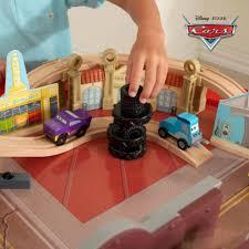 Disney Cars Bathroom Set Target by Kidkraft Disney Cars Cadillac Range 61 Piece Racetrack Set