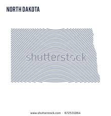 North dakota contour stock images royalty free images vectors
