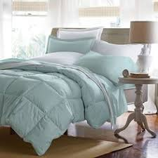 White Down Comforter Set 174 Baffled Square Down Comforter The Company Store Grey Teal