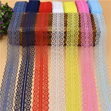 ribbon fabric 10 yards beautiful lace ribbon 28mm wide white lace trim fabric