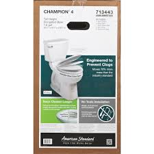 american standard champion 4 right height elongated white toilet