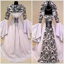 white vampire wedding dress naf dresses