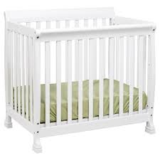 Davinci Emily Mini Crib White Davinci Kalani Convertible Mini Wood Crib In White Finish M5598w