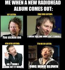Radiohead Meme - 69 best funny radiohead images on pinterest