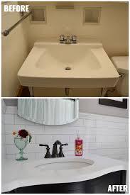 1930 S Bathroom 1930s bathroom remodel u2013 reveal u2013 life is sweet as a peach