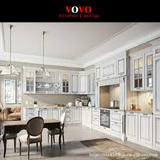 modulare k che weiß sperrholz modulare küche möbel mit glastür auf wandschrank in
