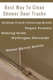 how to clean glass shower doors with hard water stains best 25 cleaning shower doors ideas on pinterest cleaning glass