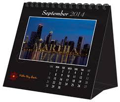 Desk Calendar Custom Usa Made Gifts Com Manufacturer And Wholesale Distributor Of