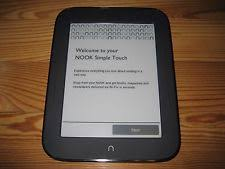Barnes And Noble Tablets Ereaders Barnes U0026 Noble Nook Simple Touch Ebook Readers Ebay