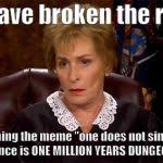 Unimpressed Meme - judge judy unimpressed meme generator imgflip