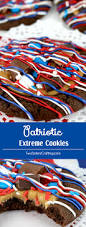 Red White And Blue Chocolate Patriotic Extreme Cookies Two Sisters Crafting