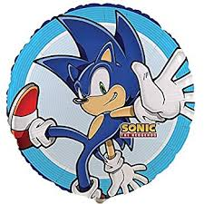 sonic party supplies sonic boom party supplies foil balloon toys