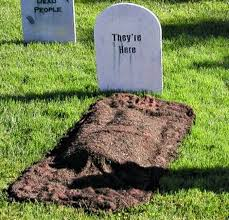 headstone decorations 16 diy yard decorations for the scariest house award