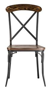 Industrial Dining Chair Bralton Dining Chairs The Industrial Shop 2 Pack Decorist