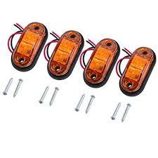 led clearance lights motorhomes justech 4pcs side marker lights led front rear lights ls