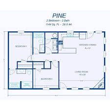 Two Bedroom House Plans by David U0027s Ready Built Homes 2 Bedroom Floor Plans Homes