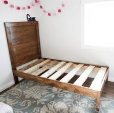 twin xl platform bed frame for the home pinterest platform
