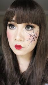 Makeup Ideas For Halloween Costumes by Best 25 Cracked Doll Makeup Ideas On Pinterest Scary Doll