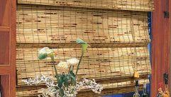 Bamboo Roman Shades Walmart - wonderful bamboo roman shades walmart also bamboo roman shades