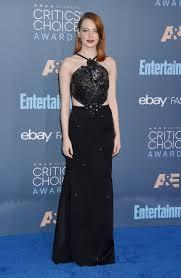 critics u0027 choice awards 2016 best dressed emma stone kerry
