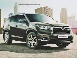 price toyota highlander 2019 toyota highlander price and redesign cars toyota review