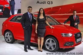 audi q3 modified 2012 auto expo audi india showcased q3 compact suv