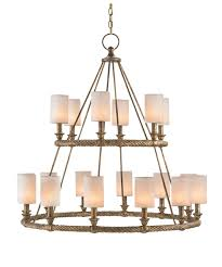 Bear Chandelier Currey And Company 9844 Westbourne 39 Inch Wide 18 Light